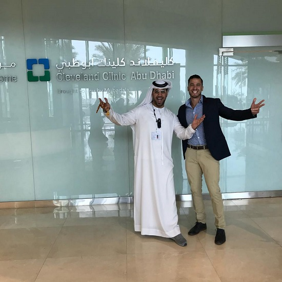 Elliot Sack at Telehealth at Cleveland Clinic in Abu Dhabi – eHealth